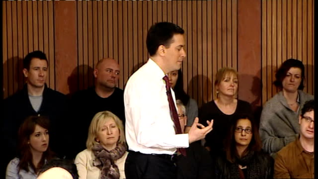 Ed Miliband speech and Q and A session Ed Miliband Question and Answer QA session SOT I totally understand the case of people who say why should rich...