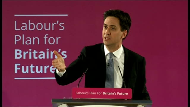 ed miliband speech and question and answer session in salford q how can you govern if noone has a majority miliband answer sot getting ahead of... - new chance stock videos & royalty-free footage
