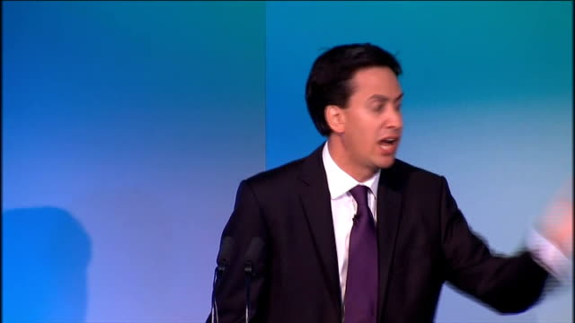ed miliband speech at tuc conference ed miliband speech continued sot so government has to change if we're to support the new economy but so do our... - too small stock videos & royalty-free footage