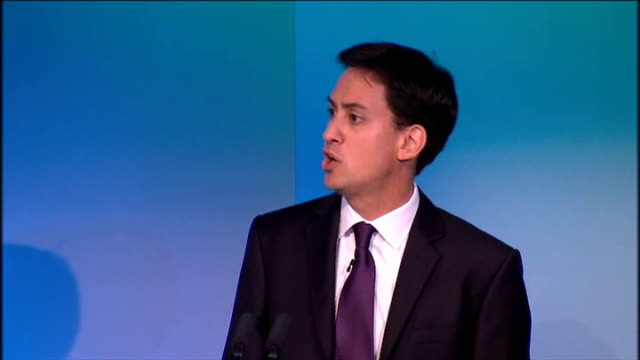 ed miliband speech at tuc conference ed miliband speech continued sot but i come to this conference as a labour leader who believes you deserve... - credit union stock videos & royalty-free footage
