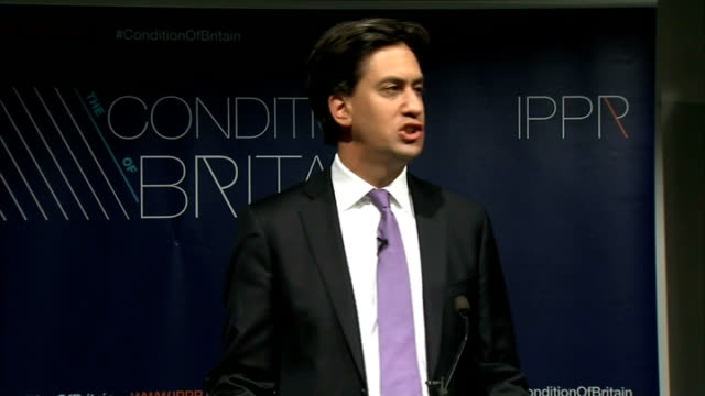 london bethnal green int ed miliband mp speech sot along with rachel reeves and the head of labour's policy review jon cruddas i am delighted to be... - bethnal green stock videos & royalty-free footage
