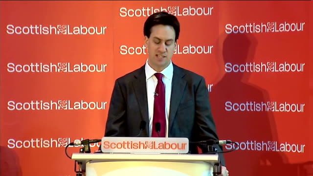 ed miliband speech on scottish independence miliband speech sot and tackling this wider inequality this injustice this unfairness is the mission for... - humility stock videos and b-roll footage