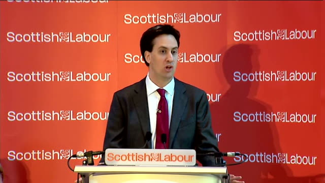 Ed Miliband speech on Scottish independence Miliband speech SOT Today I want to concentrate on the substance of the argument About one part of the...