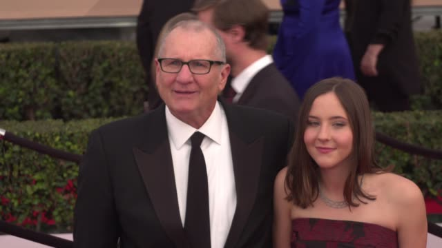 ed o'neill at the 22nd annual screen actors guild awards - arrivals at the shrine auditorium on january 30, 2016 in los angeles, california. 4k... - shrine auditorium stock videos & royalty-free footage