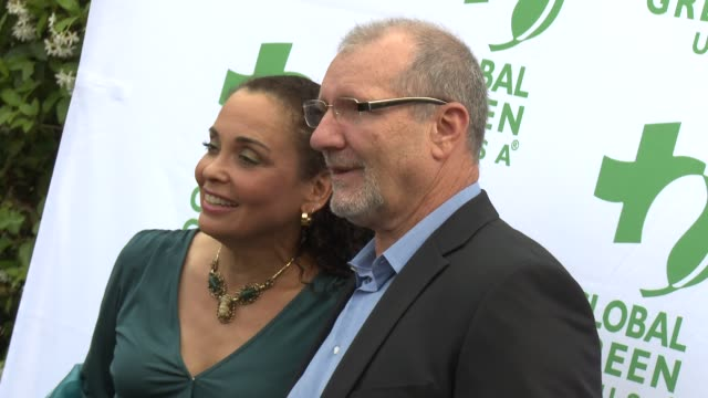 ed o'neill catherine rusoff at global green usa presents its 16th annual millennium awards at fairmont miramar hotel on june 02 2012 in santa monica... - catherine rusoff stock videos & royalty-free footage
