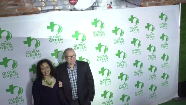 ed o'neill catherine rusoff at the 14th annual global green preoscar® party at tao hollywood on february 22 2017 in los angeles california - catherine rusoff stock videos & royalty-free footage