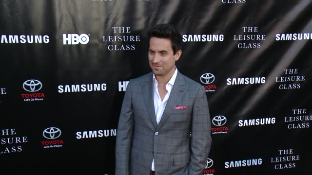 ed weeks at matt damon ben affleck adaptive studios and hbo present the project greenlight season 4 winning film the leisure class at the theatre at... - season 4 stock videos and b-roll footage
