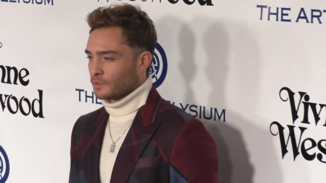 Ed Westwick at The Art of Elysium's 9th Annual HEAVEN Gala at 3LABS in Culver City at Celebrity Sightings in Los Angeles on January 09 2016 in Los...