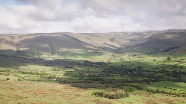 Edale in the Peak District national park, UK.
