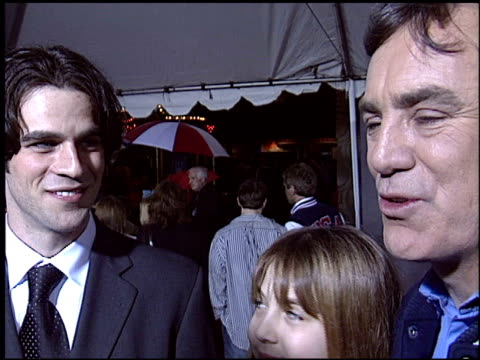 eddie cahill at the 'miracle' premiere at the el capitan theatre in hollywood california on february 2 2004 - miracle stock videos & royalty-free footage