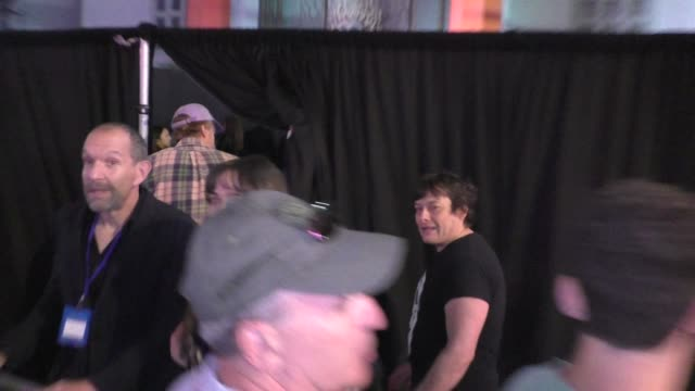 eddie furlong outside jay and silent bob reboot premiere at tcl chinese theatre in hollywood in celebrity sightings in los angeles, - edward furlong stock videos & royalty-free footage