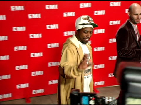 eddie griffin at the emi post-grammy awards bash at the beverly hilton in beverly hills, california on february 13, 2005. - emi grammy party stock videos & royalty-free footage