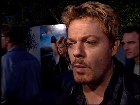 Eddie Izzard at the Cat's Meow at Harmony Gold in Hollywood California on April 10 2002