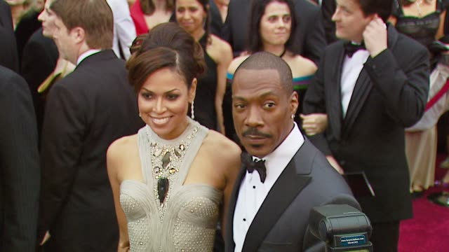 eddie murphy at the 2007 academy awards arrivals at the kodak theatre in hollywood california on february 25 2007 - eddie murphy stock videos & royalty-free footage