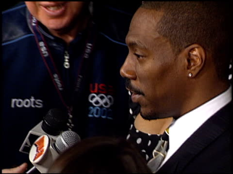 eddie murphy at the showtime at grauman's chinese theatre in hollywood, california on march 11, 2002. - showtime video stock e b–roll