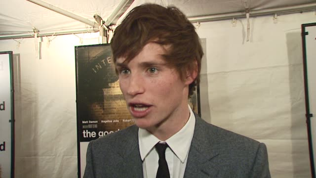 Eddie Redmayne/ Actor He discusses what an amazing experience it was working with De Niro as a director and the talent poise and aura that the...
