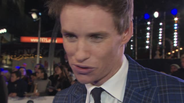 interview eddie redmayne on the story the pressures what the hawking's thought of the film the challenges of the part at 'the theory of everything'... - audio electronics stock videos & royalty-free footage