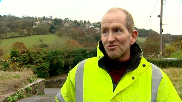 eddie 'the eagle' edwards prepares for new jump england gloucestershire eddie 'the eagle' edwards interview sot - nordic skiing event stock videos and b-roll footage