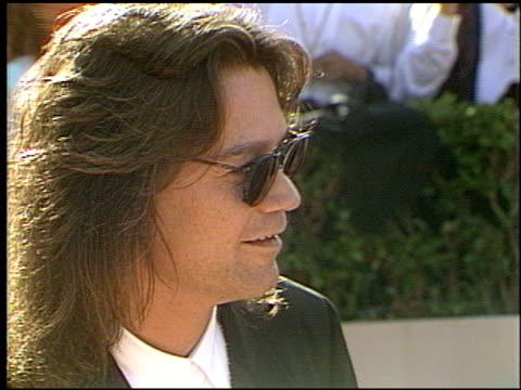 eddie van halen at the 1993 emmy awards entrances and press room at the pasadena civic auditorium in pasadena california on september 19 1993 - pasadena civic auditorium stock videos & royalty-free footage