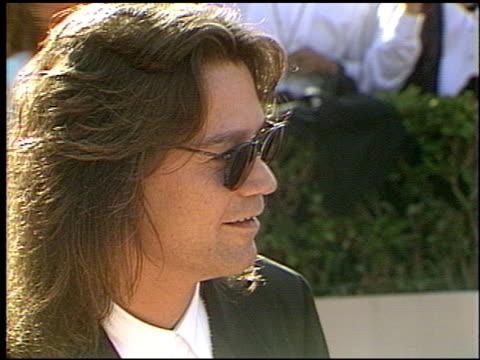 Eddie Van Halen at the 1993 Emmy Awards entrances and Press Room at the Pasadena Civic Auditorium in Pasadena California on September 19 1993