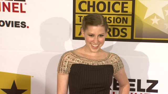 Eden Sher at the Critics' Choice Television Awards Luncheon at Beverly Hills CA