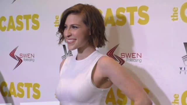 Eden Sher at the Premiere Of Swen Group's 'The Outcasts' on April 13 2017 in Los Angeles California