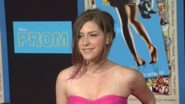Eden Sher at the 'Prom' Premiere at Hollywood CA
