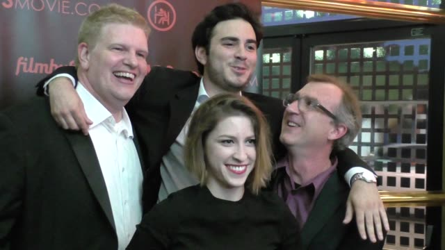 Eden Sher Grant Rosenmeyer Ryan Sage at the Los Angeles Premiere Of Temps at Laemmle Ahrya Fine Arts in Beverly Hills in Celebrity Sightings in Los...