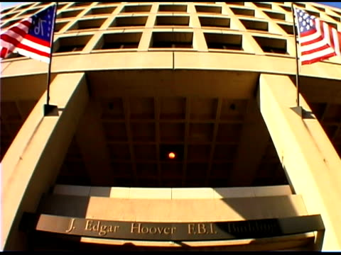 j edgar hoover fbi building, washington dc - fbi stock videos & royalty-free footage