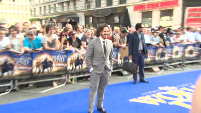 edgar wright at 'the world's end' world premiere at empire leicester square on july 10, 2013 in london, england. - the world's end stock videos & royalty-free footage