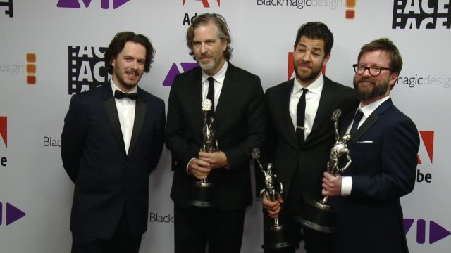 Edgar Wright Will Znidaric at 68th Annual ACE Eddie Awards in Los Angeles CA