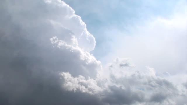 edge of cumulonimbus cloud