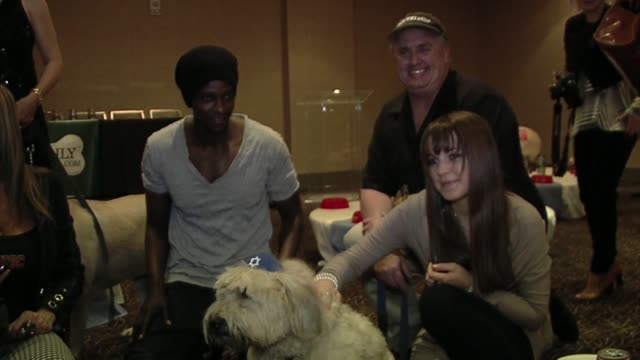 Edi Gathegi at the Evanger's Presents 'Passover Seder For Dogs' Hosted By Dog News Daily at Los Angeles CA