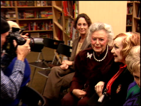 Edie Adams at the Book Signing of Ben Alba's 'Inventing Late Night' at Dutton's in Beverly Hills California on November 4 2005
