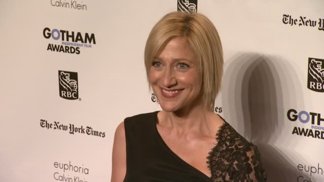 edie falco at the ifp's 21st annual gotham independent film awards - red carpet at new york ny. - independent feature project stock videos & royalty-free footage