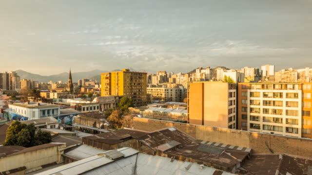 edificios techo barrio brazil - 灯台船点の映像素材/bロール