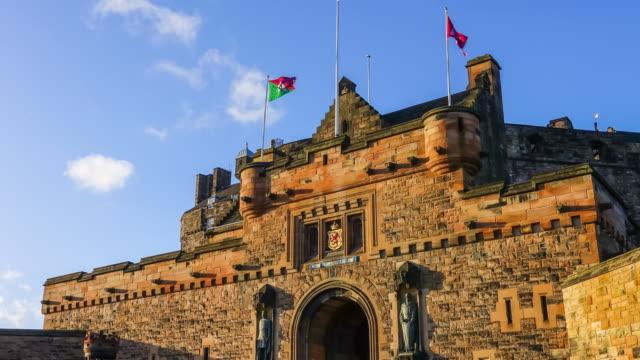 Edinburgh castle in Scotland UK
