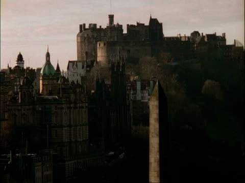 WA Edinburgh castle, Scotland