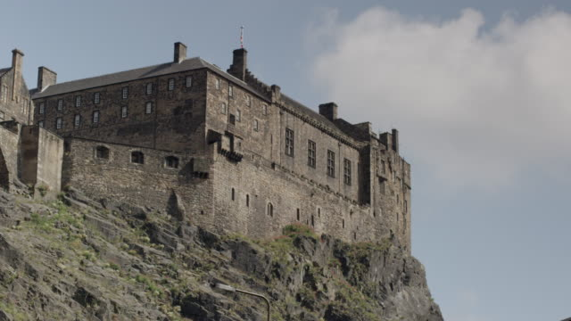 edinburgh castle - edinburgh castle stock videos & royalty-free footage