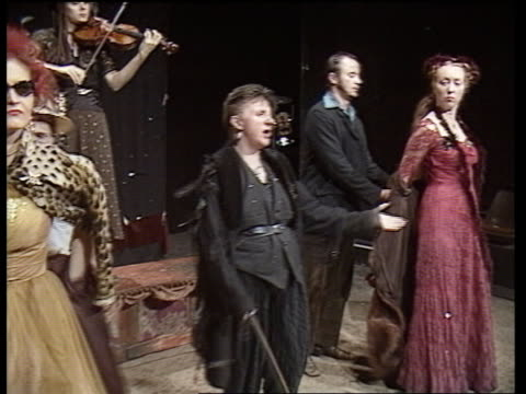 edinburgh festival commemorates mary queen of scots scotland edinburgh performance of play 'mary queen of scots got her head chopped off' by actors... - head chopped off stock videos & royalty-free footage