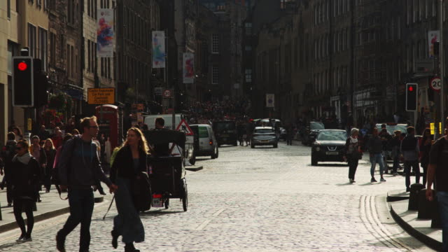 Edinburgh Festival Crowds