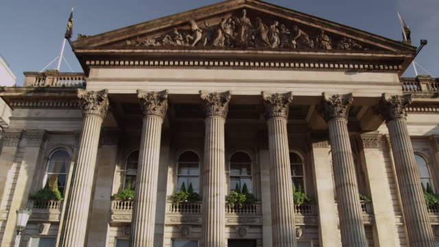 edinburgh new town - pediment stock videos & royalty-free footage