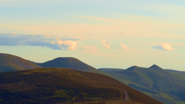 edinburgh pentland hills city view - scottish culture stock videos & royalty-free footage