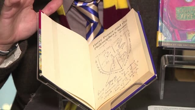 edinburgh the city where jk rowling penned much of the first harry potter novel marks 20 years since the literary phenomenon first hit the shelves... - philosopher stock videos & royalty-free footage