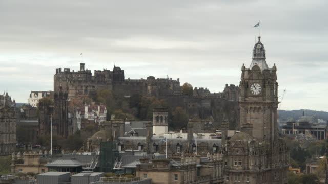 edinburgh - edinburgh castle stock videos & royalty-free footage