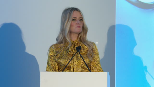 interview edith bowman on the rising star nominations jessie buckley cynthia erivo barry keoghan lakeith stanfield letitia wright at ee bafta rising... - letitia wright stock videos and b-roll footage