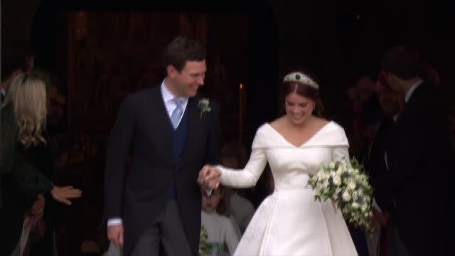 GBR: The Wedding of HRH Princess Eugenie of York and Mr. Jack Brooksbank