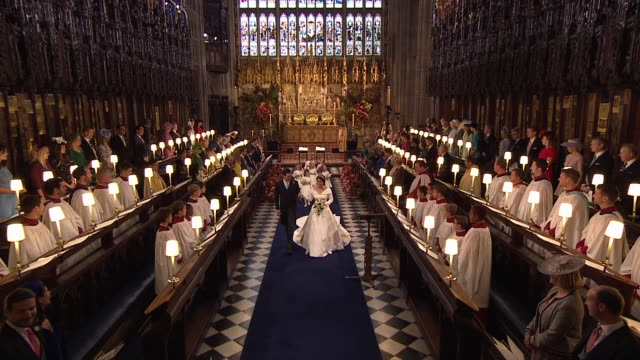 editorial use only strictly no advertising use including od products dvd merchandising limit on duration of 2 mins per clip or 12 mins in the... - st. george's chapel stock videos & royalty-free footage