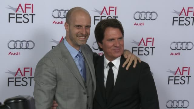 vídeos y material grabado en eventos de stock de edoardo ponti and rob marshall at afi fest 2014 presented by audi a special tribute to sophia loren at dolby theatre on november 12 2014 in hollywood... - teatro dolby