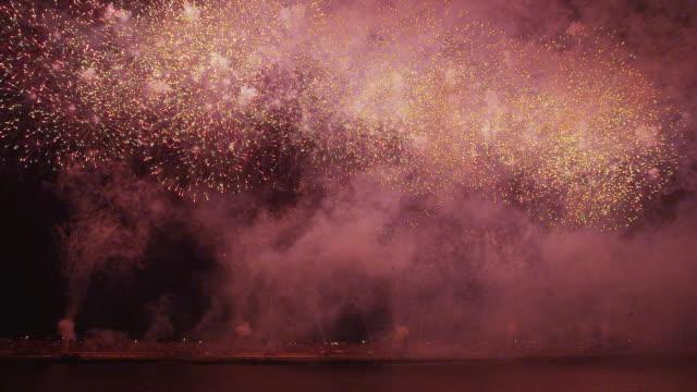edogawa fireworks festival in 2013 - 2013 stock videos & royalty-free footage